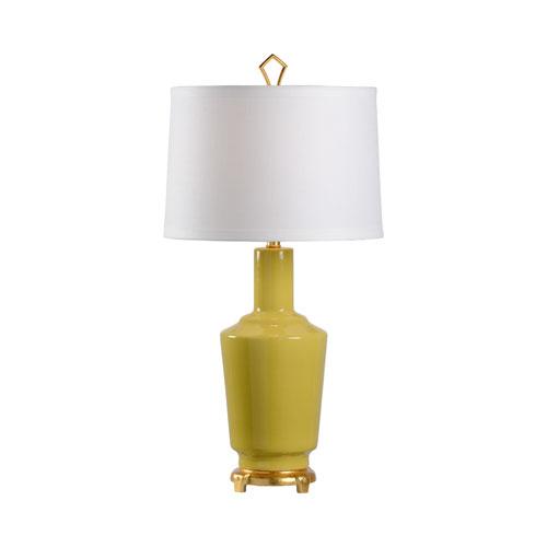 MarketPlace Herbal Glaze One-Light Table Lamp
