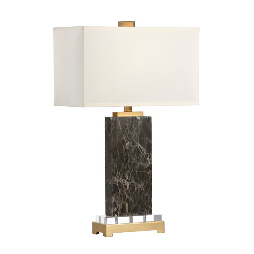 Natural Brown One-Light Table Lamp