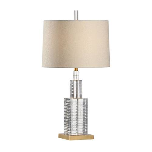 Wildwood Lamps Antique Brass One-Light Table Lamp