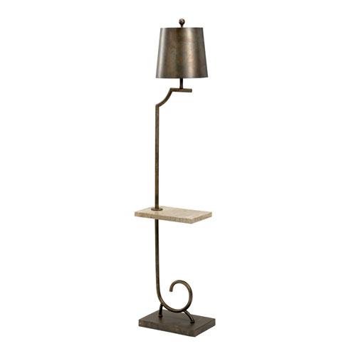 Bronze One-Light Floor Lamp