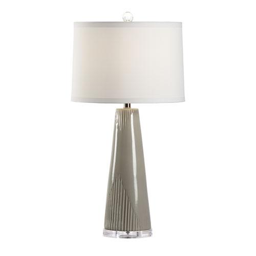 Wildwood Lamps Grey Glaze One-Light Table Lamp