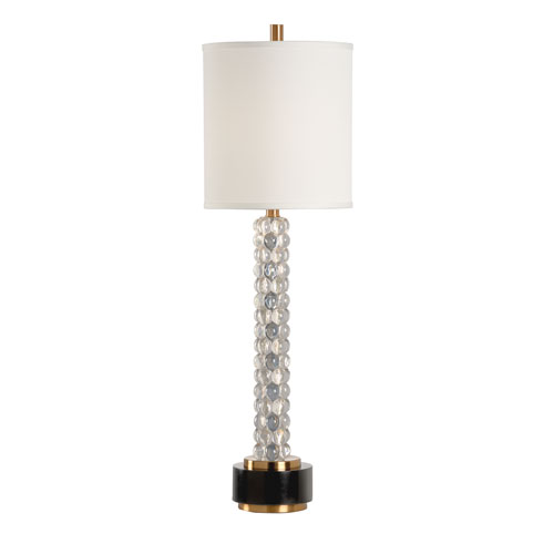 Wildwood Lamps Clear One-Light Table Lamp