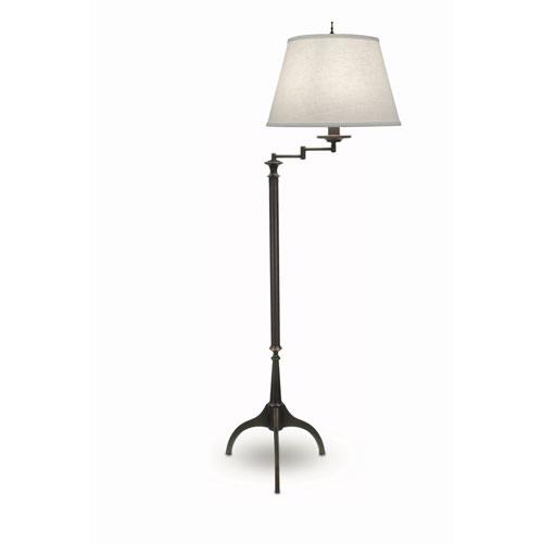 Stiffel oxidized bronze one light swing arm floor lamp with cream stiffel oxidized bronze one light swing arm floor lamp with cream aberdeen hardback shade aloadofball Gallery