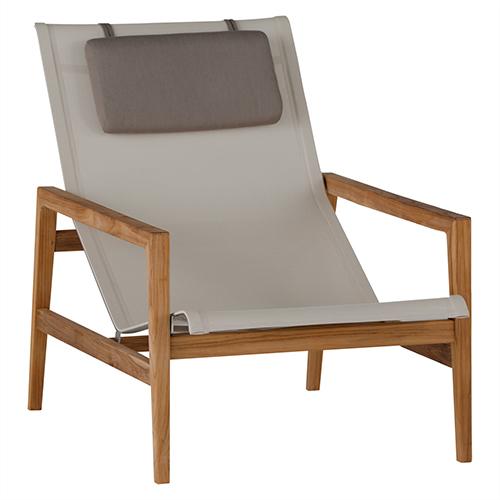 Coast Ivory Teak Easy Chair