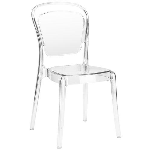 251 First Monroe Clear Side Chair