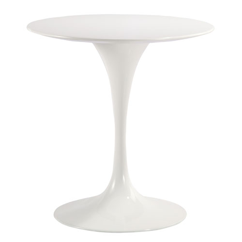 Nicollet White 28 In. Dining Table