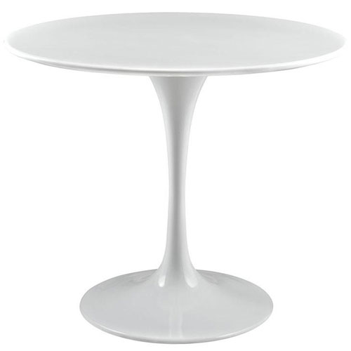 Nicollet White 36 In. Dining Table