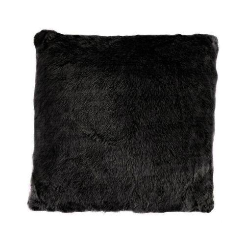 Arctic Bear Black 22 In. X 22 In. Throw Pillow