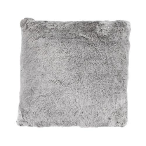 Arctic Bear Gray 22 In. X 22 In. Throw Pillow