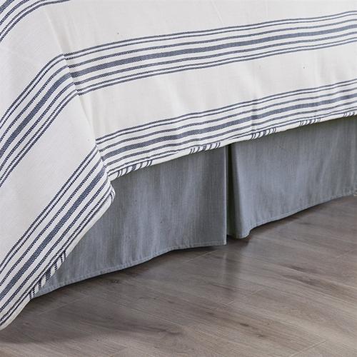 Chambray Full Bed Skirt