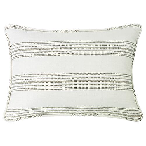 Prescott Taupe Stripe Standard Pillow Sham