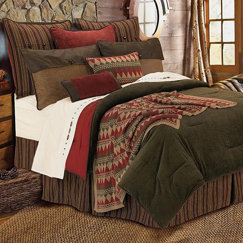Wilderness Ridge Brown Twin Five-Piece Comforter Set