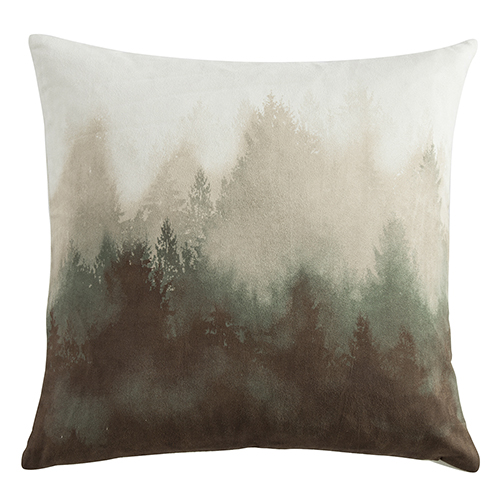 Watermark Tree 18 x 18 In. Throw Pillow