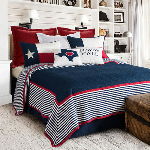 Ranger Navy Two-Piece Twin Quilt Set