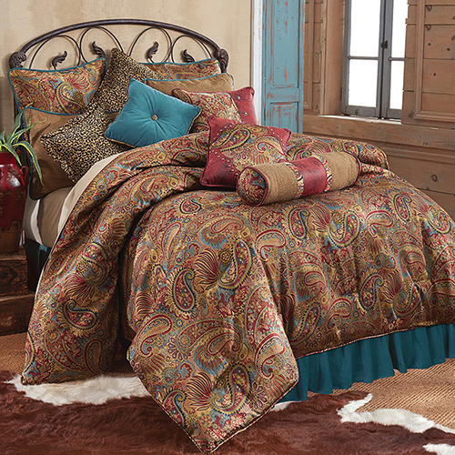 San Angelo Multicolor Twin Three-Piece Comforter Set