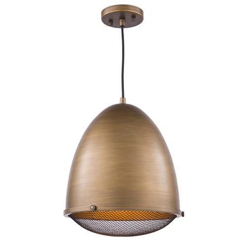 Retro Loft Bronze 13-Inch One-Light Pendant