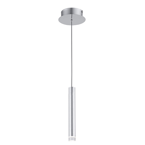 Galiano Satin Aluminum LED Mini Pendant