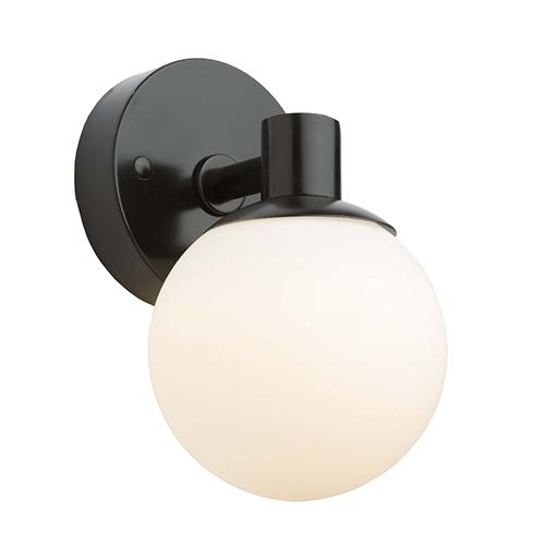 Tilbury Semi Gloss Black LED Wall Sconce