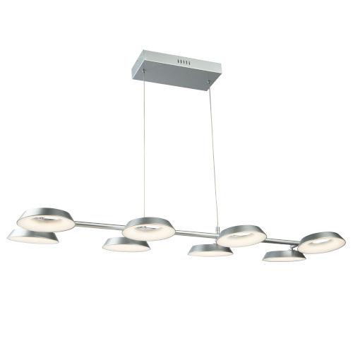 Leith Silver LED Island Pendant