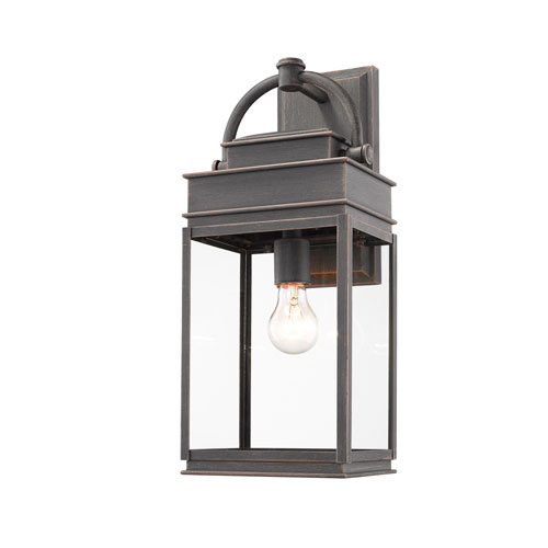 Fulton Oil Rubbed Bronze One-Light Outdoor Wall Sconce
