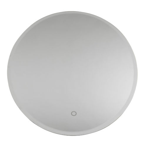 Lunar White 24-Inch LED Wall Mirror