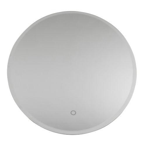 Lunar White 32-Inch LED Wall Mirror