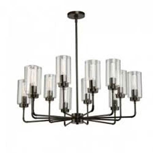 Ray Oil Rubbed Bronze 12-Light Chandelier
