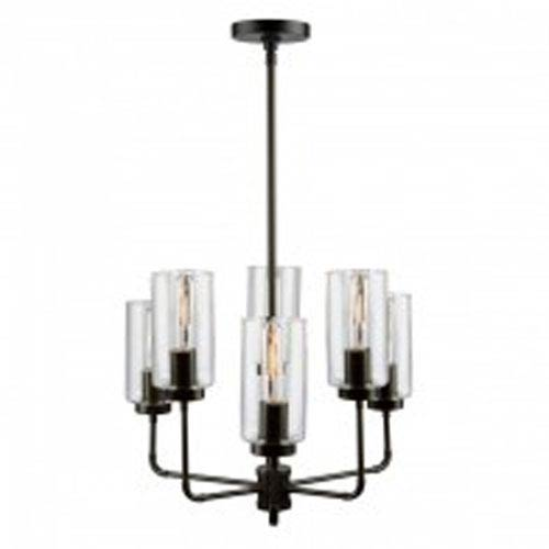 Ray Oil Rubbed Bronze Six-Light Chandelier
