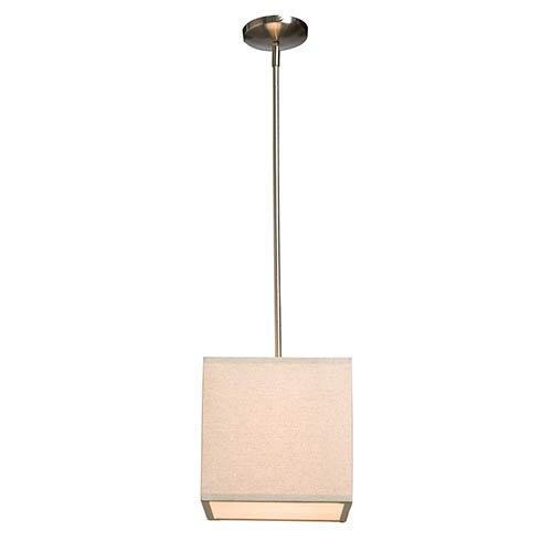 Mercer Street Oatmeal One-Light Mini Pendant