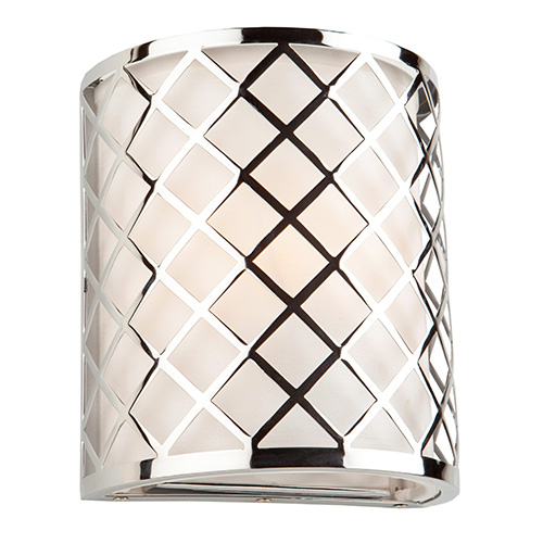 Trellis Chrome One-Light Wall Sconce