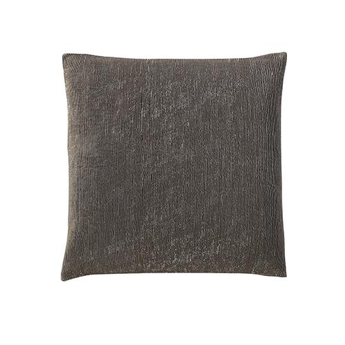 Galleria Pintex Grey 22 x 22 In. Throw Pillow