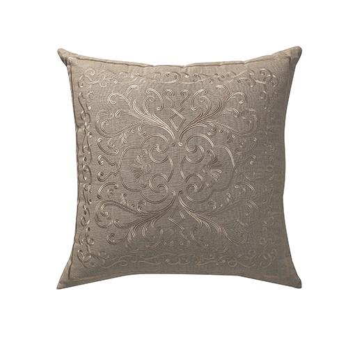 Arpino Natural 24 x 24 In. Throw Pillow