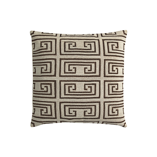 Pearl Maze Ivory 22 x 22 In. Throw Pillow