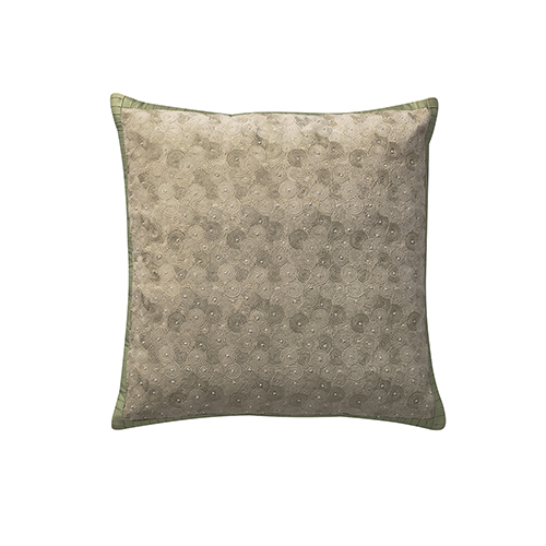 Labyrinth Pearl 21 x 21 In. Throw Pillow