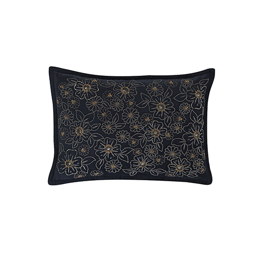 Valerie Black 14 x 20 In. Throw Pillow
