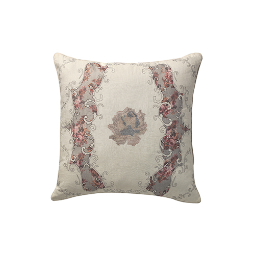 Vintage Victoria Pearl 20 x 20 In. Throw Pillow