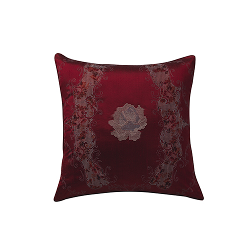 Vintage Victoria Ruby 20 x 20 In. Throw Pillow