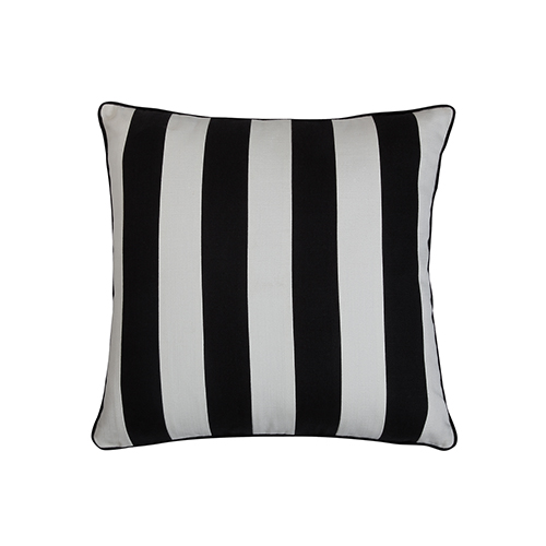 Crossbar Black and White 22 x 22 In. Throw Pillow