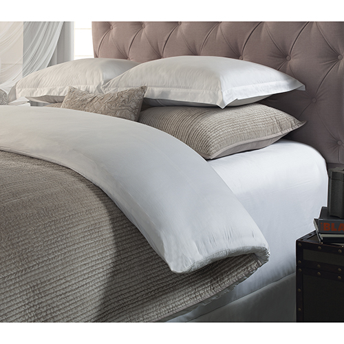 Orchids Lux Home Spencer Champagne King Coverlet
