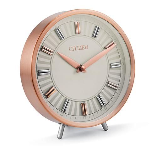 CC1021 Decorative Rose Gold Desk Clock