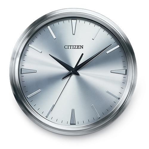 CC2004 Gallery Silver Wall Clock