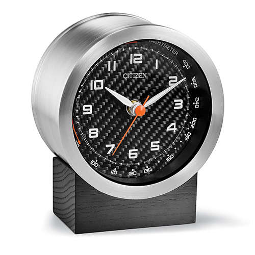 CC3000 Workplace Silver Desk Clock