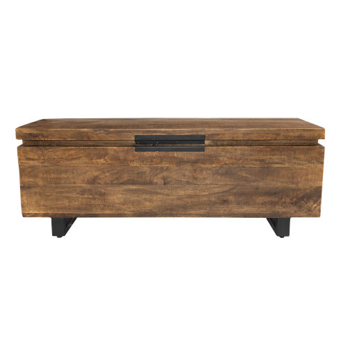 Zoe Honey Brown Storage Trunk