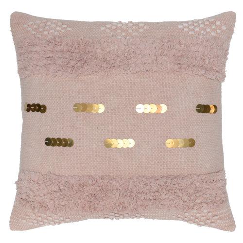 Angela Blush Throw Pillow