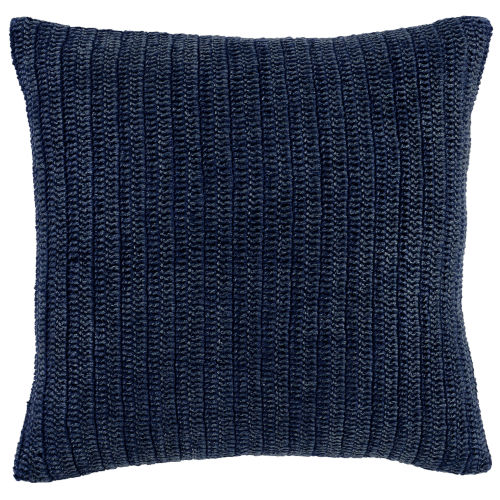 Callie Indigo Square Throw Pillow