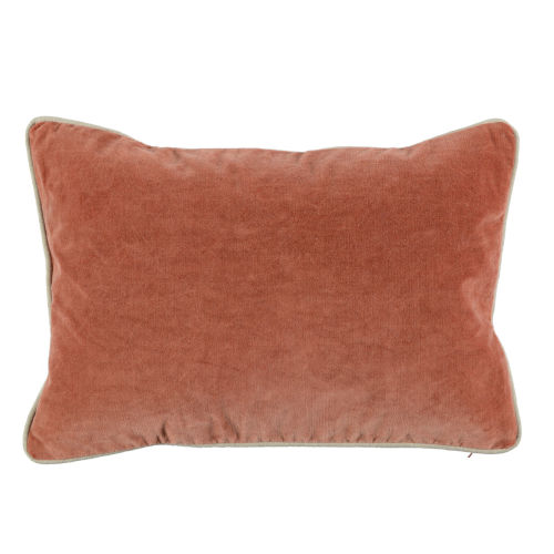 Colby Terra Cotta Throw Pillow