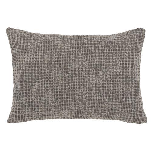 Emily Gray Throw Pillow