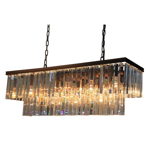 El Dorado Java Brown 13-Light Island Fixture