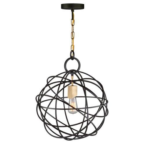 Orbit Oil Rubbed Bronze One-Light Pendant