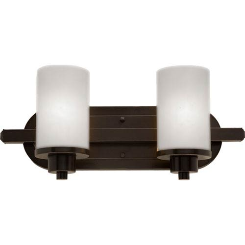 Artcraft Parkdale Two-Light Oil Rubbed Bronze Bathroom Fixture